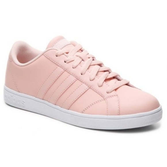 ADIDAS NEO BASELINE PINK SHOES